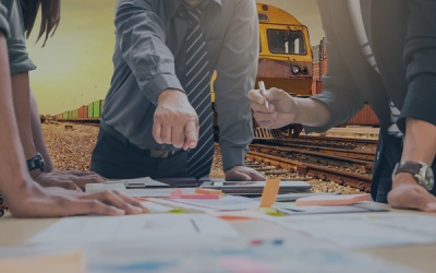How can contract management software help rail transportation companies?